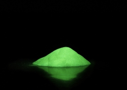glow in the dark option for when you buy powder coating